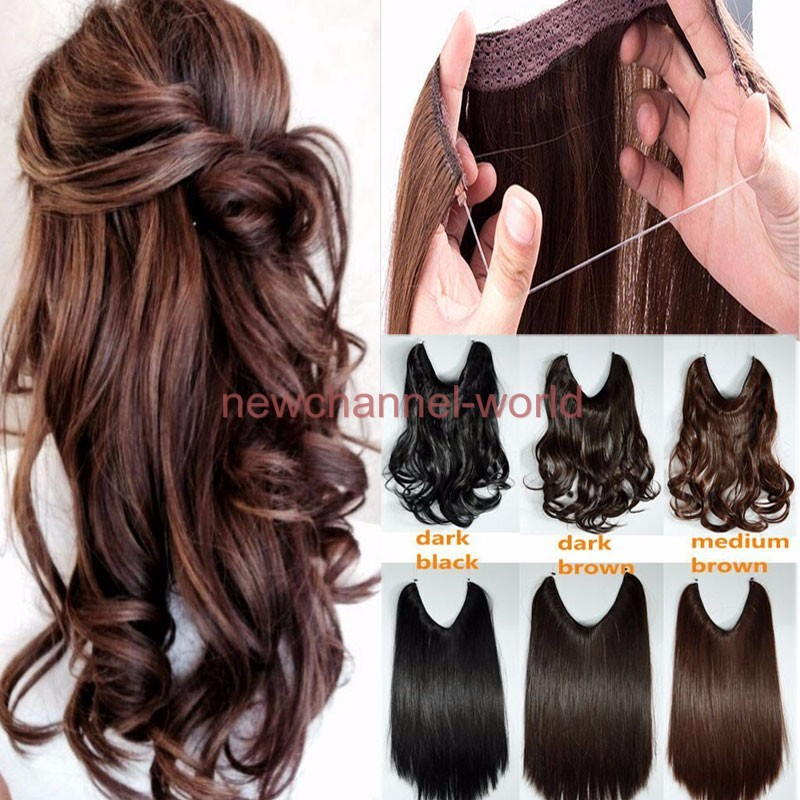 Thick Long 8pcs Clip In Real As Remy Human Hair Extension Full Head
