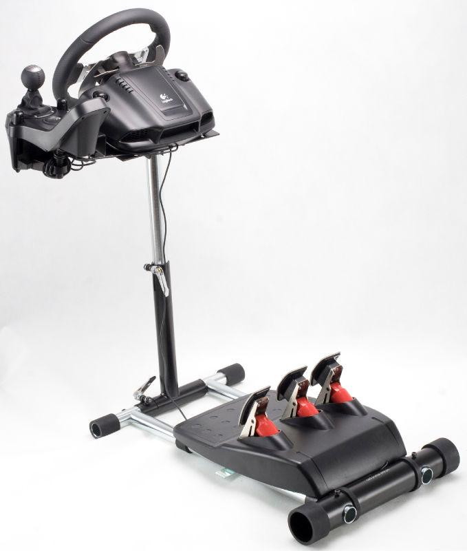 g29 deluxe racing simulator steering wheel stand pro 4. Black Bedroom Furniture Sets. Home Design Ideas