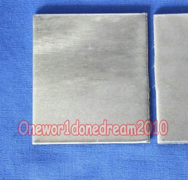 99.96/% Pure Purity Nickel Ni Metal Sheet Anode Sheet Plate 2mm x 60mm x 70mm