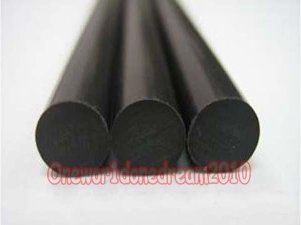 1pc Nylon Polyamide PA Plastic Round Rod Stick Stock Apricot 60mm x 100mm # GY
