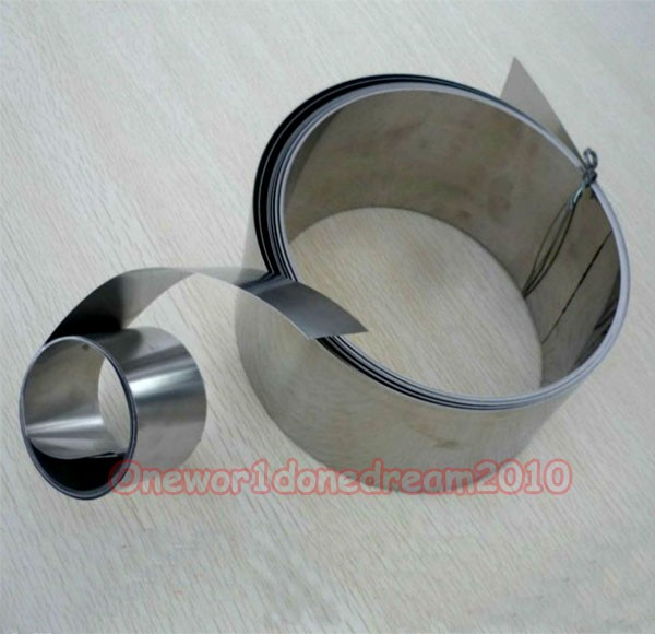 1 Piece 65Mn High Carbon Hardened Spring Steel Plate Strip 0.2mm x 30mm x 1000mm