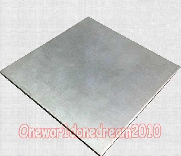 1x Titanium Ti Titan Grade 2 Gr.2 ASTM B265 Plate Sheet 2mm x 200mm x 250 mm
