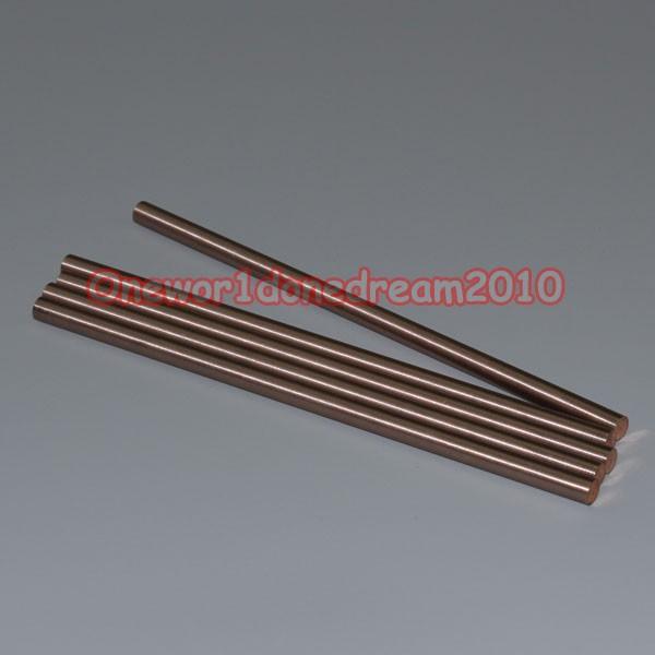 """1pc W80CU20 Tungsten 80/% Copper 20/% Alloy Rod OD 10mm 2//5/"""",Length 200mm 8/"""" # GY"""