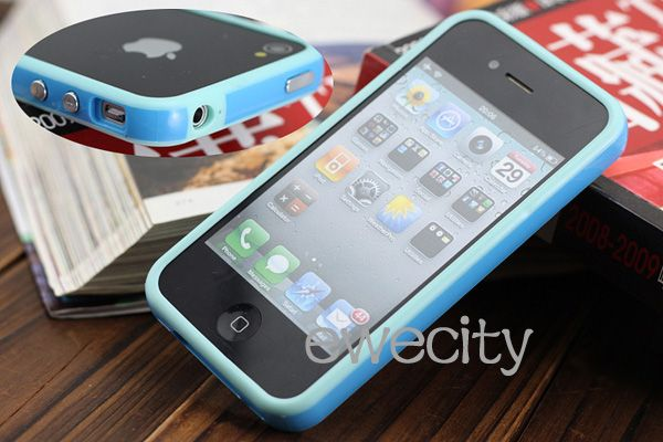 6Pcs New Bumper Frame TPU Rubber Bumper Cases COVER For Apple iphone