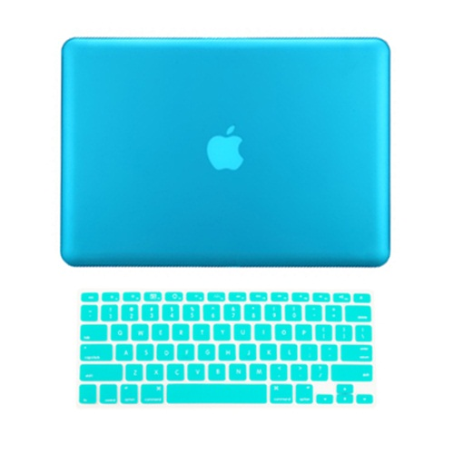 """Retina display 2in1 CLEAR Rubberized Case for NEW Macbook Pro 15/"""" A1398 Key"""
