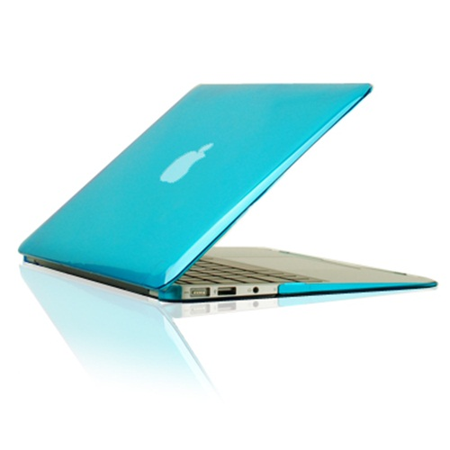 """5in1 Hot BLUE Rubberized Case fr Macbook Air 11/"""" A1370 /&A1465 Key+LCD+Bag+Mouse"""