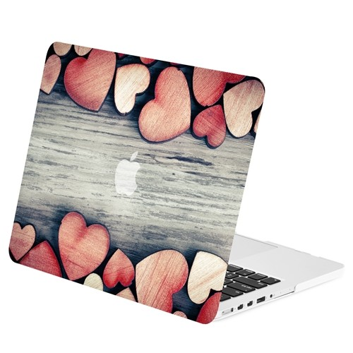 "A1502 Red Paint Splash Graphic Matte Case for Macbook Pro 13/"" w// Retina A1425"