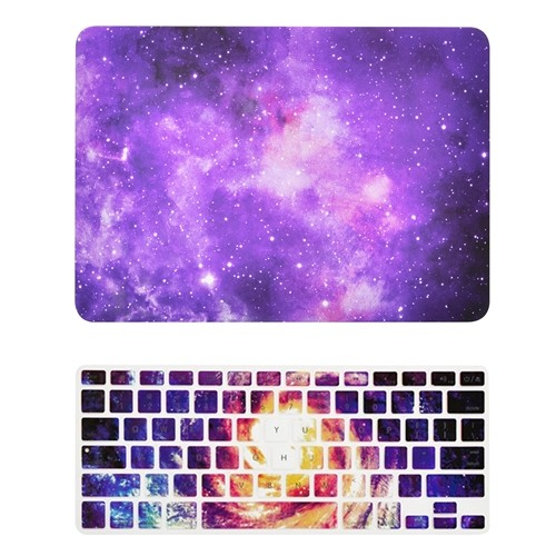 "A1278 Keyboard Cover for MacBook Pro 13/"" Model Pink Galaxy Graphic Matte Case"