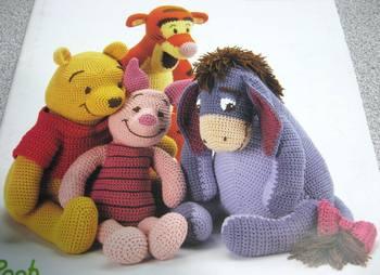 Crochet Pattern Pooh Winnie Crochet Club
