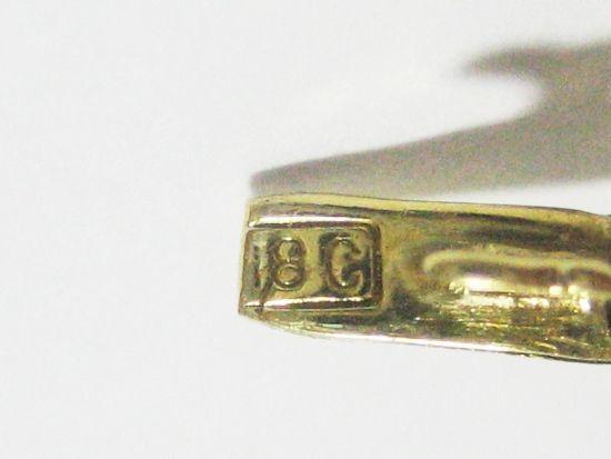 Antique French Art Deco 18k Gold Bracelet Diamond