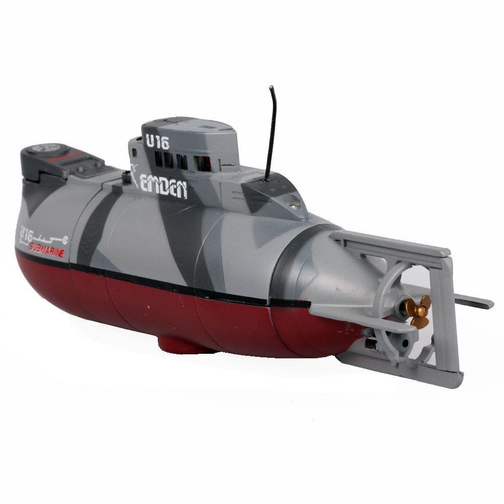 ... Control Mini Submarine German Emden U16 Ship Boat RC RTR w/Light