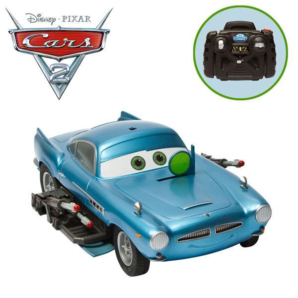 Finn Mcmissile Cars 2: Air Hogs R/C Cars 2 Missile Firing - Finn McMissile RTR