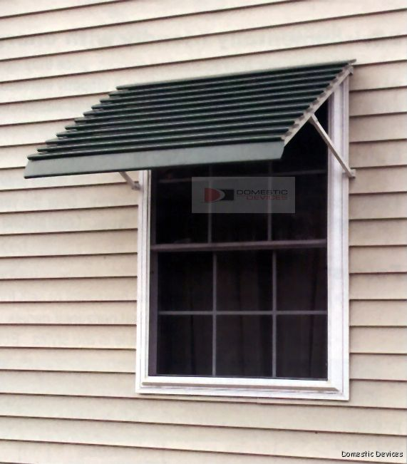 Closed Panel Aluminum Window Awnings 10 Awning Colors In