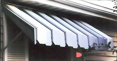 Aluminum Window Awnings Valance Edge 65 X 22 X 25 Ebay