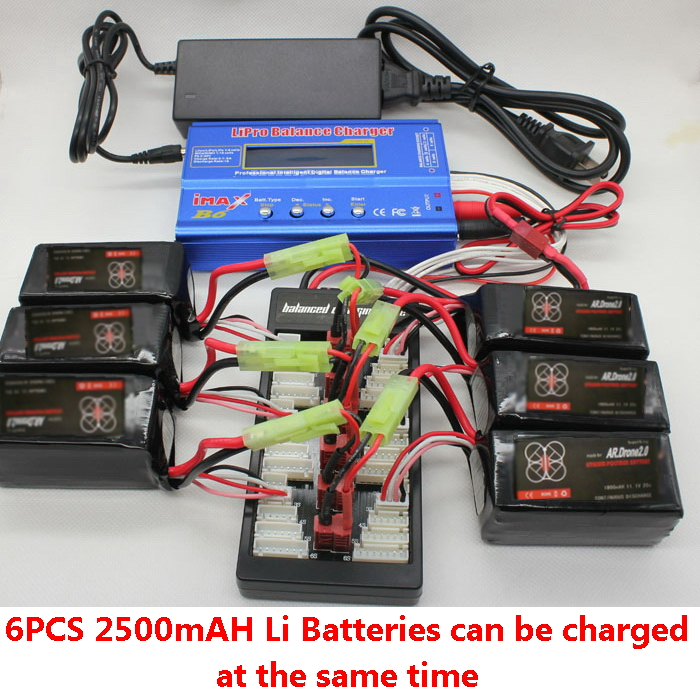 parrot ar drone lipo battery balance speed charger adapter b6 of batch multiple ebay. Black Bedroom Furniture Sets. Home Design Ideas