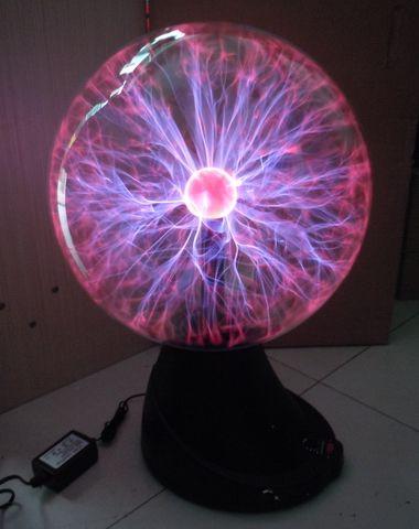 16 Quot Plasma Ball Sphere Globe Magic Lightning Lamp Light