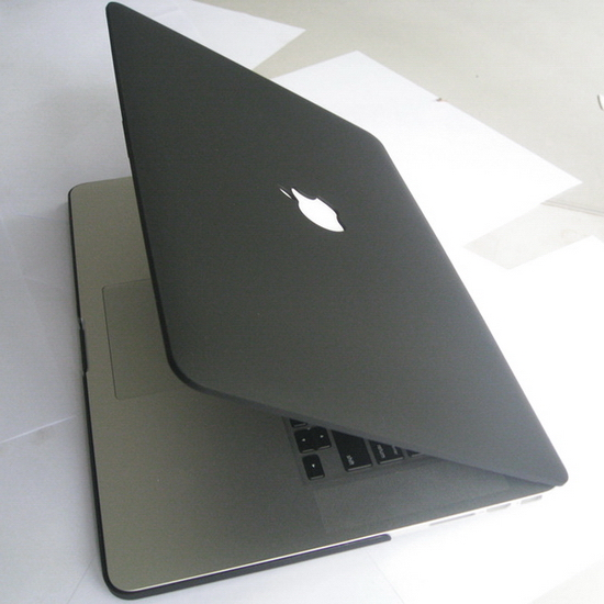 hot sale online fcbfb 11eea Details about Matte Black Hard Case Cover Clip Housing Protector fr Apple  MacBook Pro 15 A1398