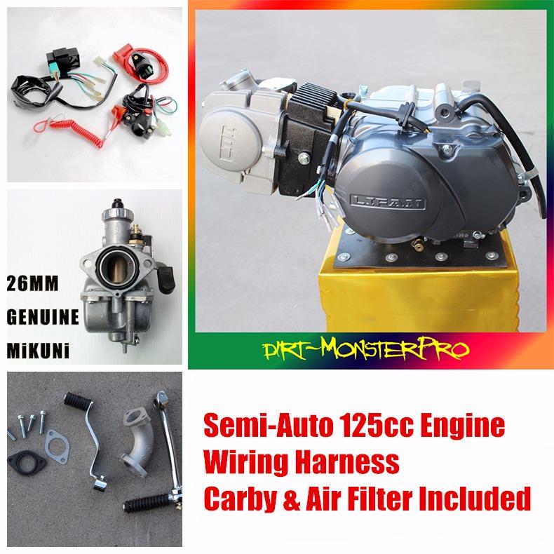 cc semi auto lifan engine motor honda ct ct postie bike 125cc semi auto lifan engine motor w wiring carby 4 honda ct 110 90 postie bike
