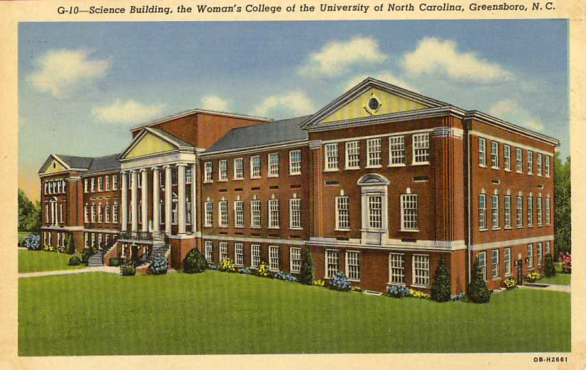 Colleges In Greensboro Nc >> Details About 1940 Greensboro Nc Women S College Of University Of North Carolina Postcard