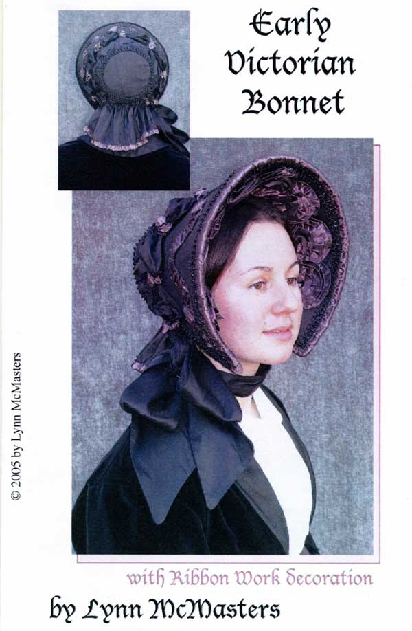 Victorian 1845 1865 Bonnet Hat Sewing Pattern by Lynn Mcmasters on ... cc994f5743b