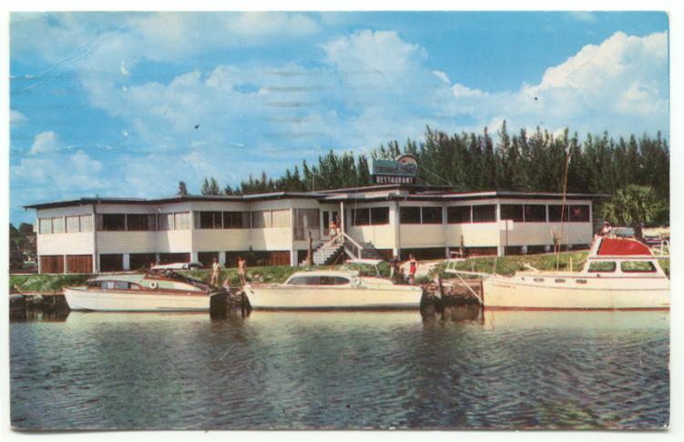 Details about Venice FL Fisherman's Wharf Restaurant Postcard - Florida
