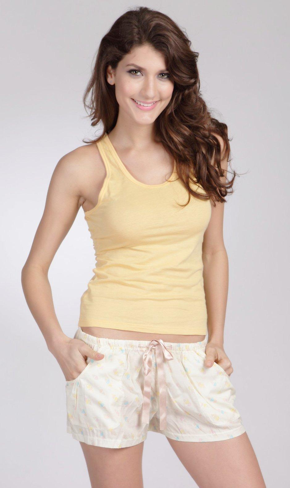 E et D S21015 Gym Cotton Singlet diff colours size 8 10 12 14