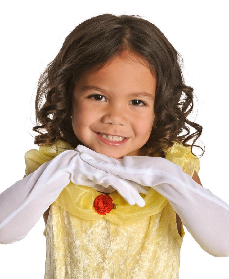 Little Adventures Deluxe Cinderella Costume: Girl's Cinderella Princess Dress Up Halloween Costume S,M