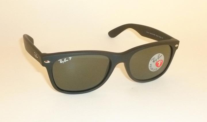 f1489b579c New RAY BAN Sunglasses Matte Black Rubber WAYFARER RB 2132 622 58 ...