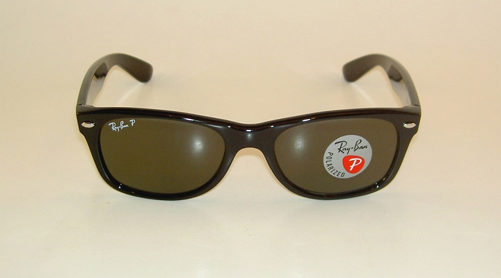 67e8aad682 Ray Ban New WAYFARER Black Frame RB 2132 901 58 Glass Polarized ...