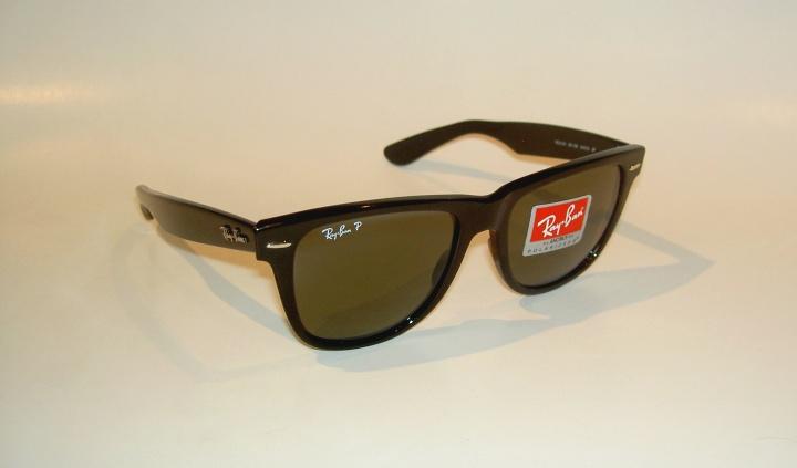 b56ef126fa Details about New RAY BAN Sunglasses Black WAYFARER Glass Polarized RB 2140  901 58 Medium 50mm