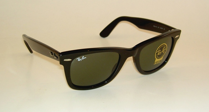 New RAY BAN Original WAYFARER Sunglasses RB 2140 901 Black Frame ... 5a1b4dfffa3b5