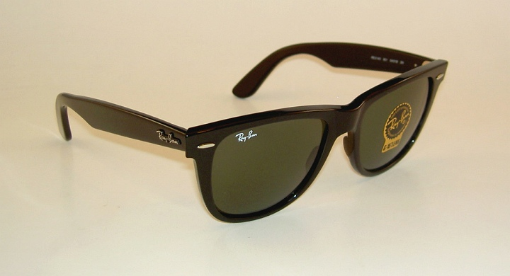 629f3ce698 New RAY BAN Original WAYFARER Sunglasses RB 2140 901 Black Frame ...