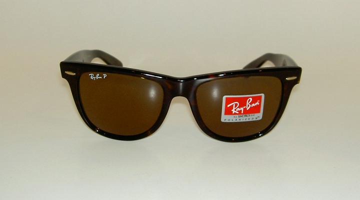 337733bf28fc7 New RAY BAN Sunglasses Wayfarer Brown Frame RB 2140 902 57 Polarized ...