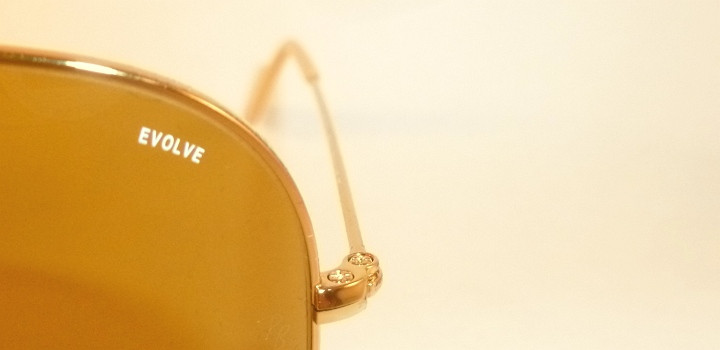 53ca6cf62b0 New RAY BAN Aviator EVOLVE Sunglasses Gold Frame RB 3025 9064 4I ...