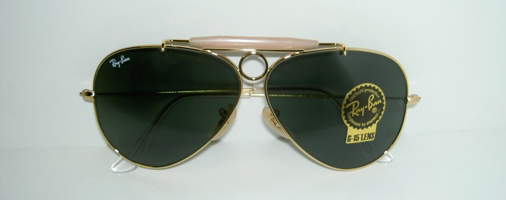 Dettagli su Ray Ban Shooter RB 3138 001 Gold G15 Green New Authentic Sunglasses