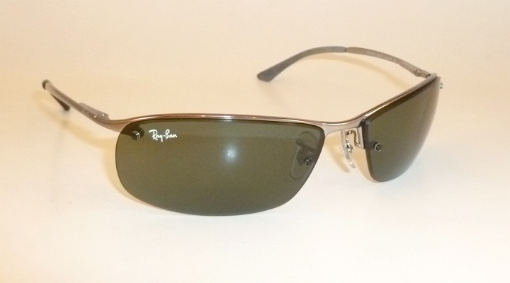 New RAY BAN Sunglasses TOP BAR Gunmetal Frame RB 3183 004 ...