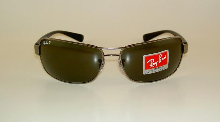 2063bc3ea4 New RAY BAN Sunglasses Gunmetal Frame RB 3379 004 58 Polarized ...
