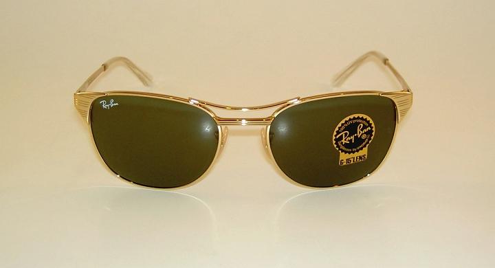 39db810f09 New RAY BAN Sunglasses SIGNET Gold Frame RB 3429M 001 G-15 Glass ...