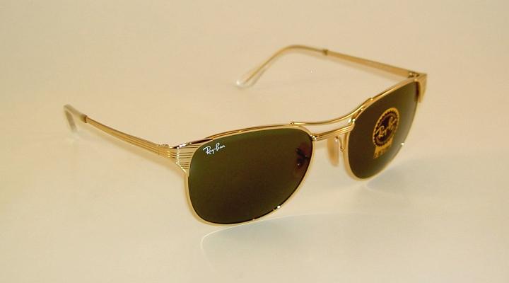 61e7f580de New RAY BAN Sunglasses SIGNET Gold Frame RB 3429M 001 G-15 Glass ...