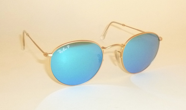 ray ban 3447 polarized blue