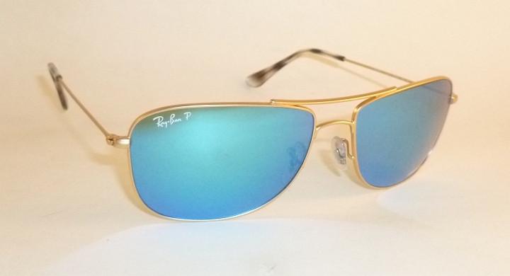 5c9ef79525e New Ray Ban Chromance Sunglasses Matte Gold RB 3543 112 A1 Polarized ...