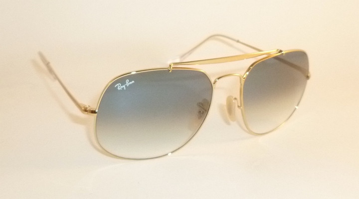 1deb362621b New RAY BAN Sunglasses The General Gold Frame RB 3561 001 3F ...