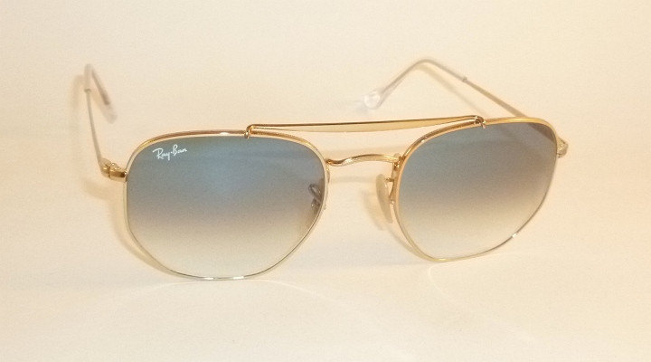 710cc8bdf57 New RAY BAN Marshal Sunglasses Gold Frame RB 3648 001 3F Gradient ...