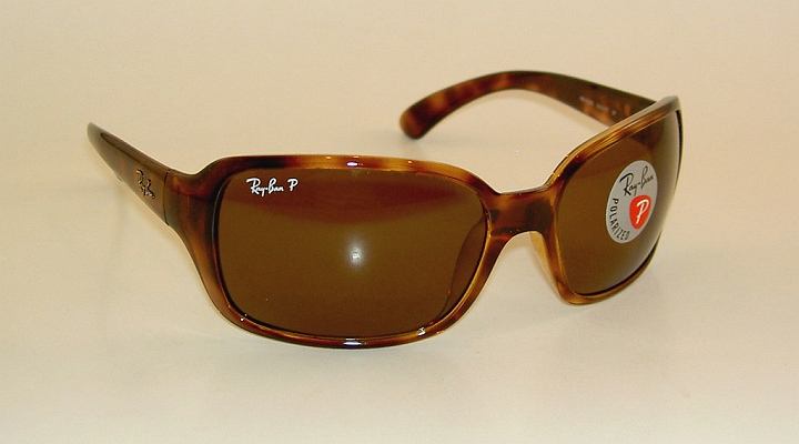 ededdc0e4d6 Details about New RAY BAN Sunglasses RB 4068 642 57 Glass Polarized Brown  Lenses