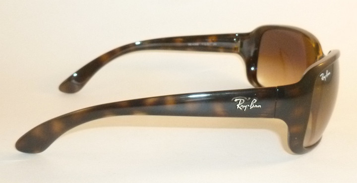 560b317446 New RAY BAN Sunglasses Tortoise Frame RB 4068 710 51 Gradient Brown ...