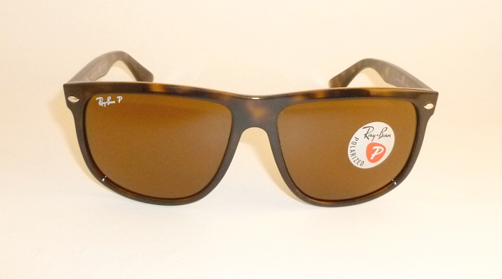 264efaecd483a New RAY BAN Sunglasses Brown Frame RB 4147 710 57 Glass POLARIZED ...