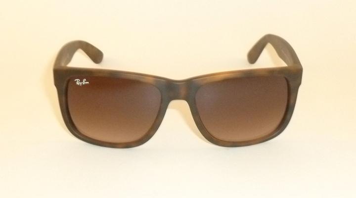 RAY BAN Justin Sunglasses Rubber Havana Brown RB 4165 710 13 ... da275a5ac0