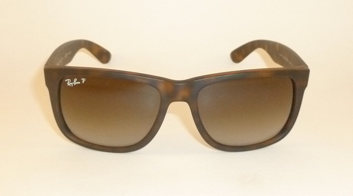 58bcea438a RAY BAN Justin Sunglasses Tortoise RB 4165F 865 T5 Polarized ...