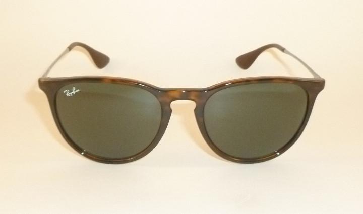 New RAY BAN Erika Sunglasses Tortoise Frame RB 4171 710 71 Green ... 191c8fa8d4cf
