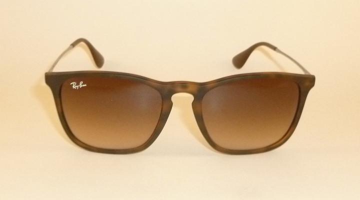 5ab74bf7739 New RAY BAN Chris Sunglasses Matte Tortoise Frame RB 4187 856 13 ...